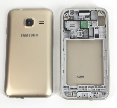 Корпус для Samsung Galaxy J1 mini (SM-J105H) золотой
